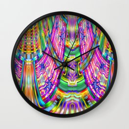After two glasses of wine ... Wall Clock