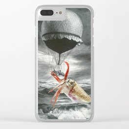 What Lies in the Depths Clear iPhone Case