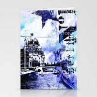 berlin Stationery Cards featuring Berlin  by LebensART