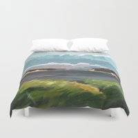 cape cod Duvet Covers featuring Wells Fleet Cape Cod by Gord Coulthart