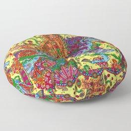 Purrfect Harmony Floor Pillow