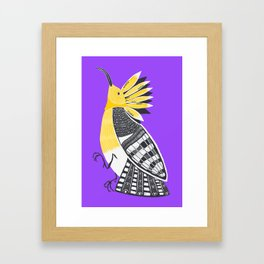 The Hoopoe Framed Art Print
