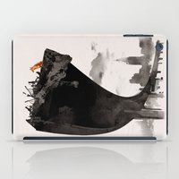 last of us iPad Cases featuring The Last of Us by Robert Farkas