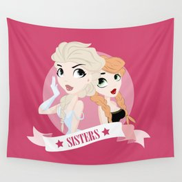 Sisters Wall Tapestry