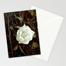 Vintage Rose And Wild Grasses Stationery Cards