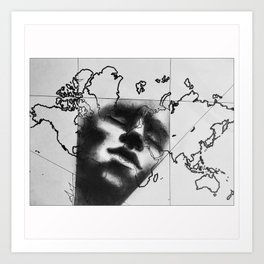 Introspection (Awakening Voyages) Art Print