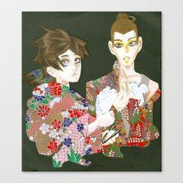 Papercut Canvas Print