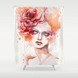 Peaches & Cream Shower Curtain