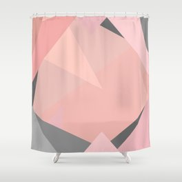 pink storm Shower Curtain
