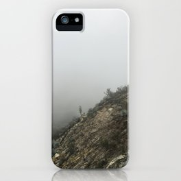 Misty Mountain iPhone Case
