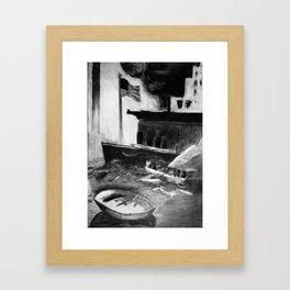 Escape! Framed Art Print