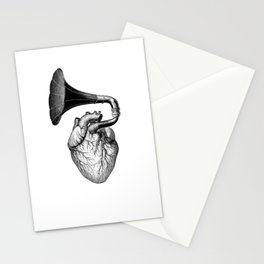 Hearthphone Music / olex oleole Stationery Cards