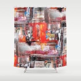 Urban Grafiti II Shower Curtain