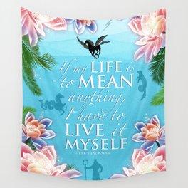 PJO Live it myself Wall Tapestry