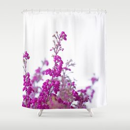 Heather flower #2 #decor #art #society6 Shower Curtain