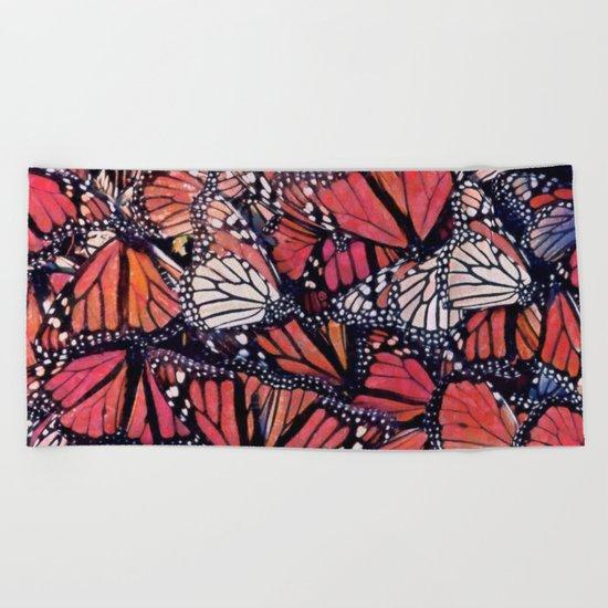 Monarch Butterflies II Beach Towel