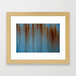 Rusted Steel Framed Art Print