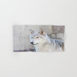 Alpha Wolf Hand & Bath Towel