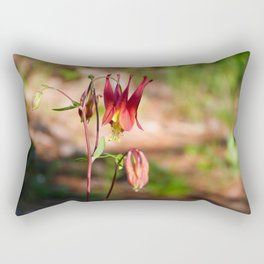 Canada Columbine Rectangular Pillow