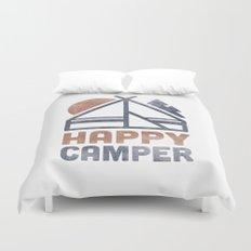 Happy Camper Duvet Cover