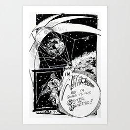 Astrobunny! Art Print