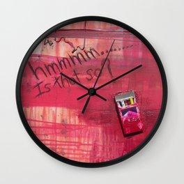 Hmmmmm...... Is that so? Wall Clock