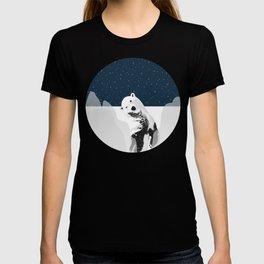 Unique Polar Bear Scene T-shirt