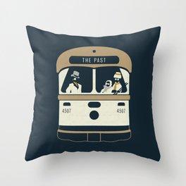 Urban Fae — TTC Streetcar Throw Pillow