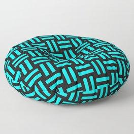 Equal Parts Aqua Floor Pillow