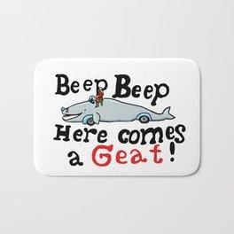 Beep beep here comes a Geat Bath Mat