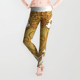 French Royal Arms in Or Leggings