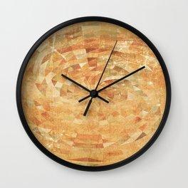 Fun with Circles 2 Wall Clock