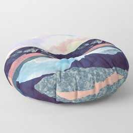 Lake Reflection Floor Pillow