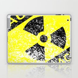 Radioactive Grunge Sign Laptop & iPad Skin