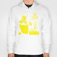 taxi driver Hoodies featuring Taxi driver art by Buby87