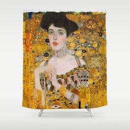 Adelle (Detail) Gustav Klimt Shower Curtain