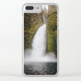 Wahclella Falls Clear iPhone Case