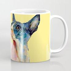 cat yellow Mug