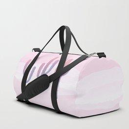 Dreamy Pastel Cacti Design Duffle Bag