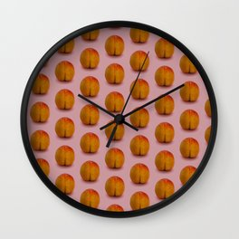 Millions of Peaches Wall Clock