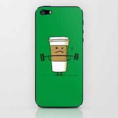 Strong Coffee iPhone & iPod Skin