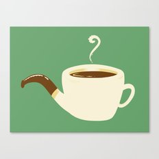the Coffee Pipe Canvas Print