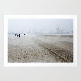 Sea Fog Art Print