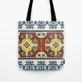 traditional Kazakh ornament Tote Bag