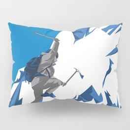 Extreme Rockclimbing Pillow Sham