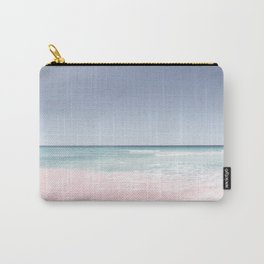 Pastel ocean waves Carry-All Pouch