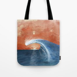 Wave&Sky Tote Bag