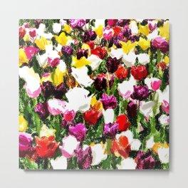 Full spring colors Metal Print