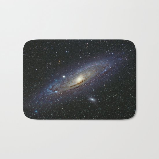 The Andromeda Galaxy Bath Mat