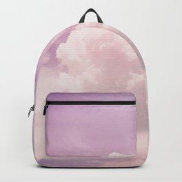 Purple clouds Backpack